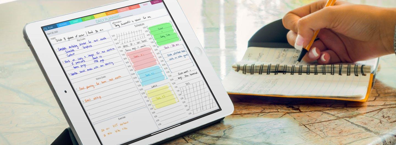 Boss Personal Planner digital planner on ipad