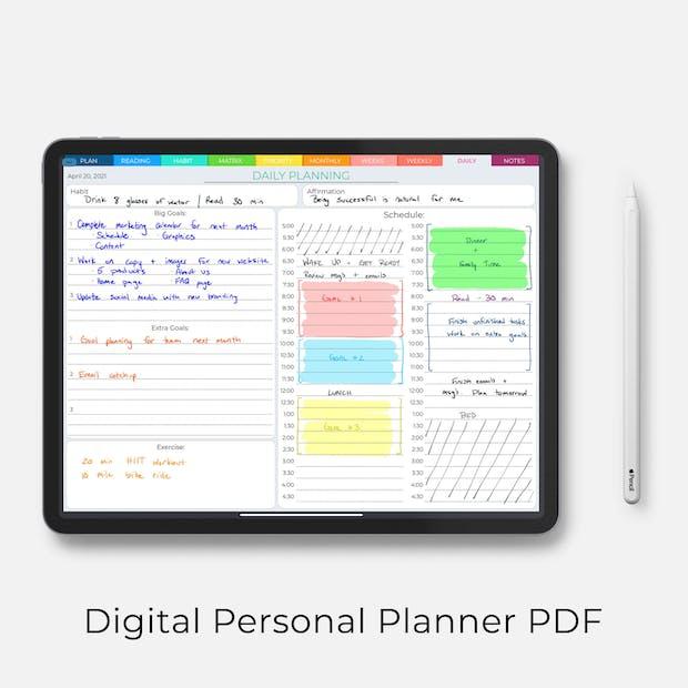 Digital Personal Planner
